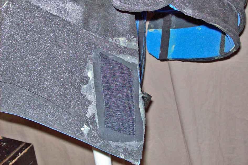 klettband hakenseite auf stoff gen ht stoff aufgeklebt. Black Bedroom Furniture Sets. Home Design Ideas