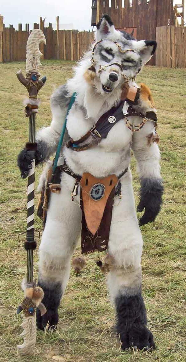 Brittas Wolfskostüm